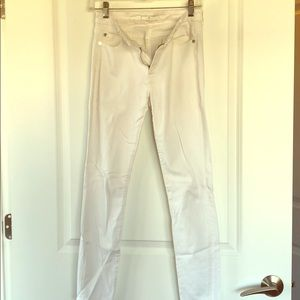 7 For All Mankind white pants in size 27